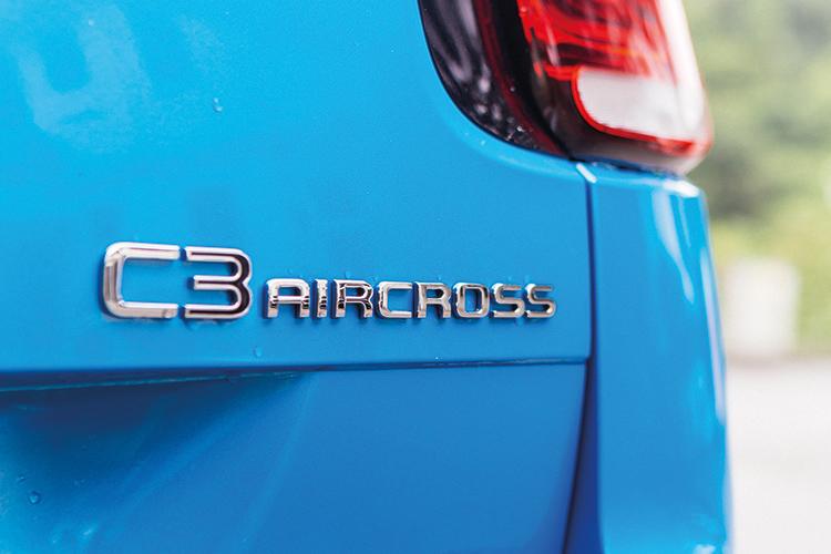 citroen c3 aircross badge