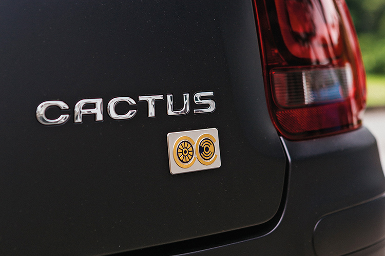citroen c4 cactus badge