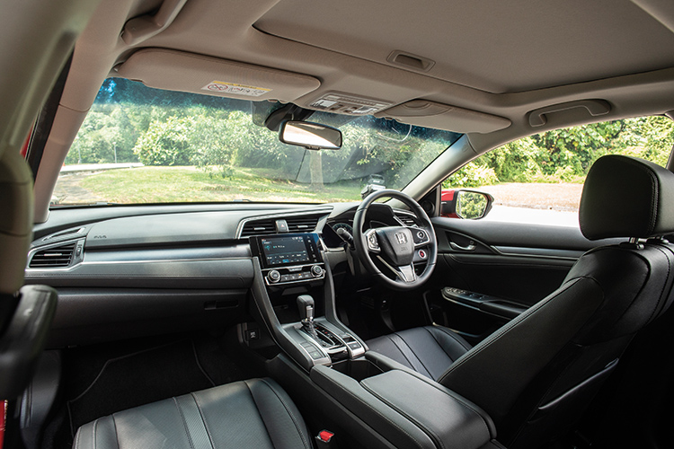 Honda Civic – Cockpit