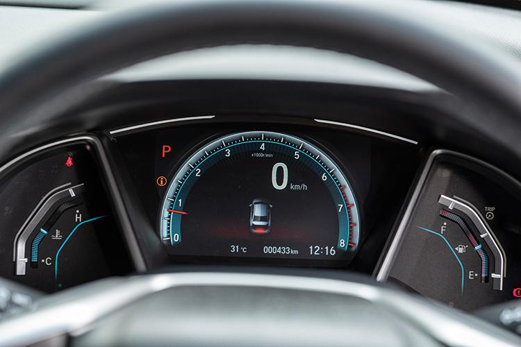 Honda Civic – Meters
