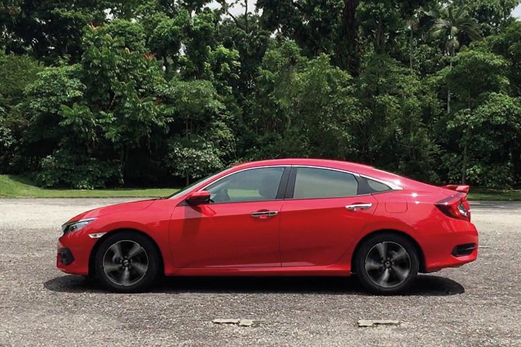 Honda Civic – Ride & Handling