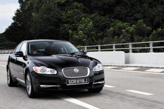 jaguar xf sport front