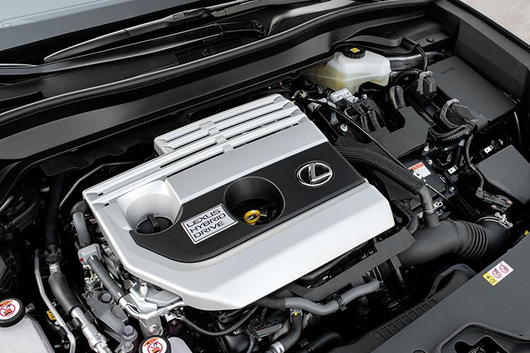 lexus ux hybrid engine