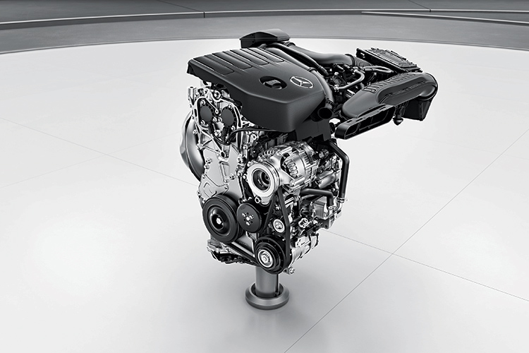 mercedes-benz a-class engine