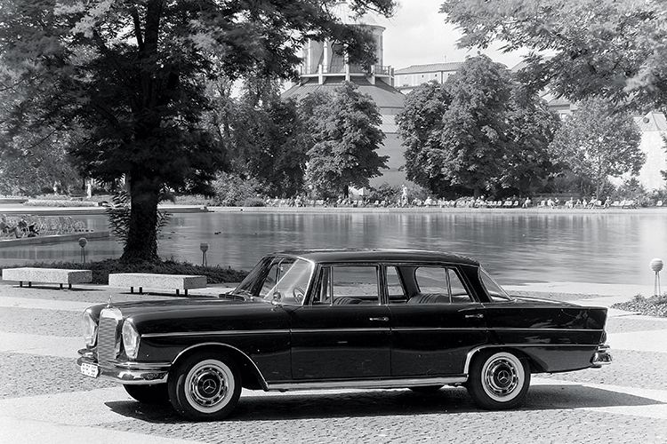 back to the future with classic Mercedes-Benz W112 300SE model