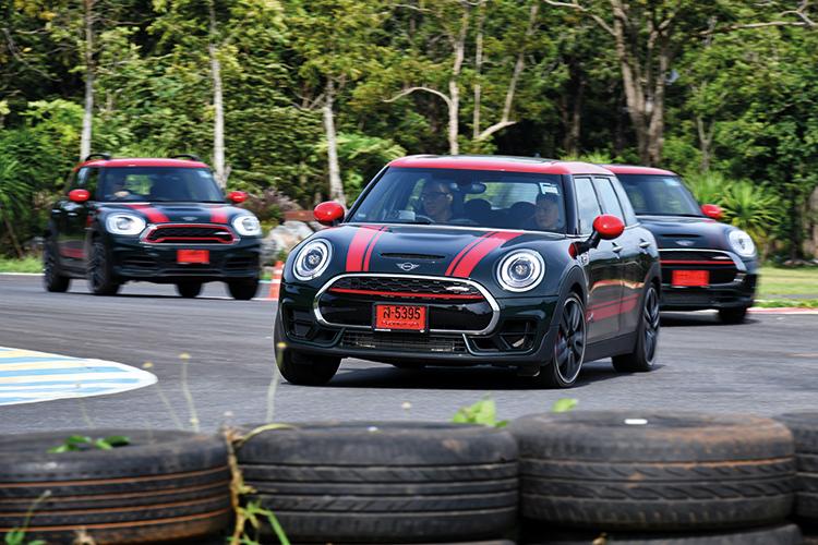 mini jcw models on track
