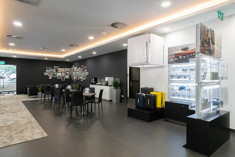 eurokars aftersales centre porsche customer lounge