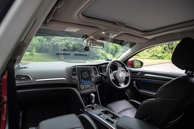 Renault Megane Sedan – Cockpit