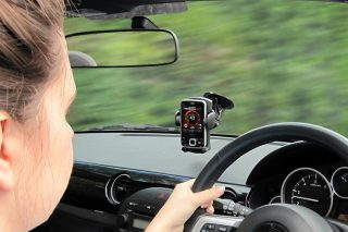 why aren't dash-mounted devices illegal