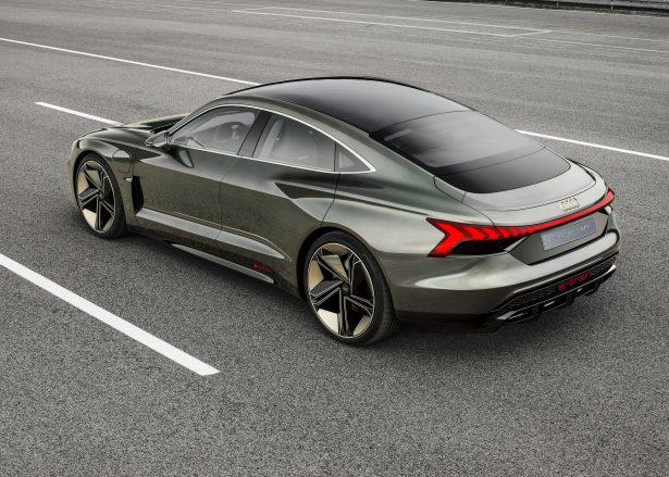 Audi e-tron GT concept charging