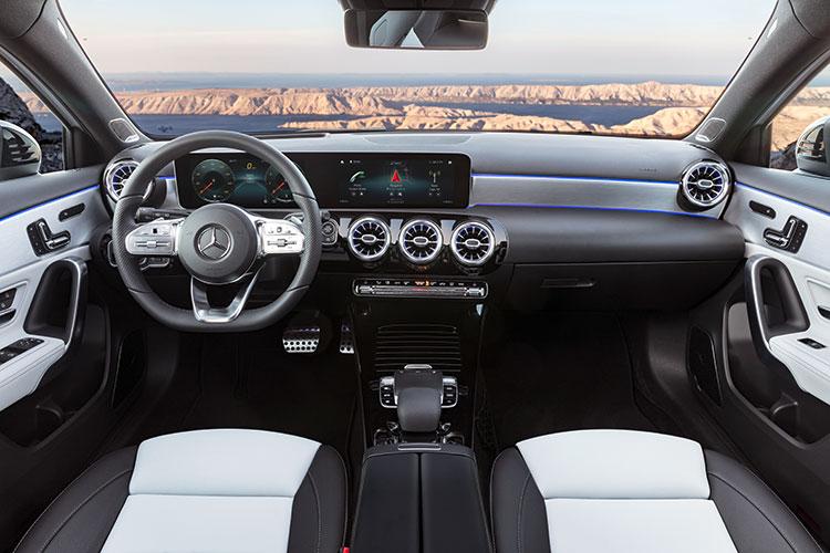 a-class cockpit