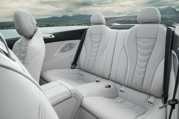 bmw 8 series convertible backseat