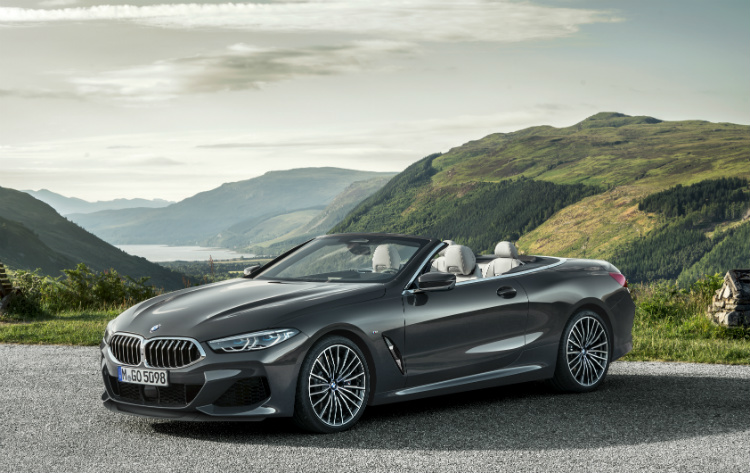 bmw 8 series convertible front