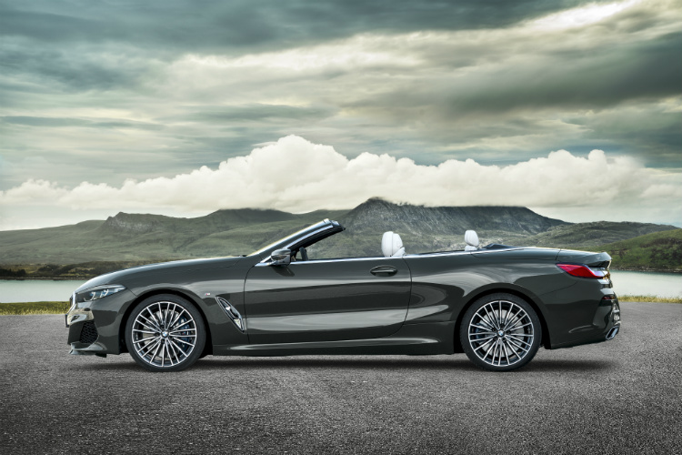 bmw 8 series convertible profile