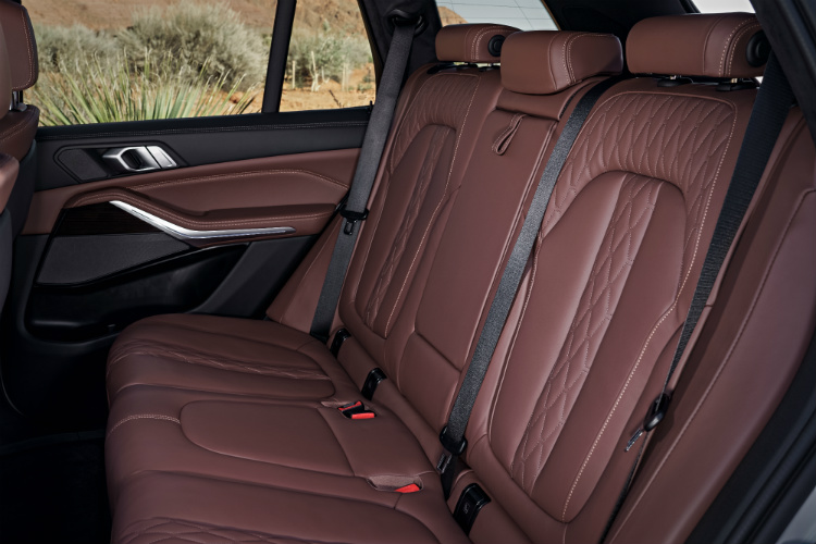bmw x5 backseat