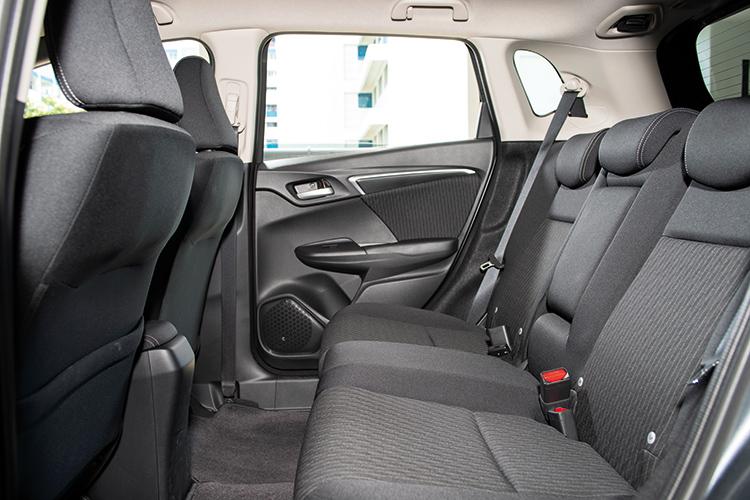 Honda Jazz – Backseat