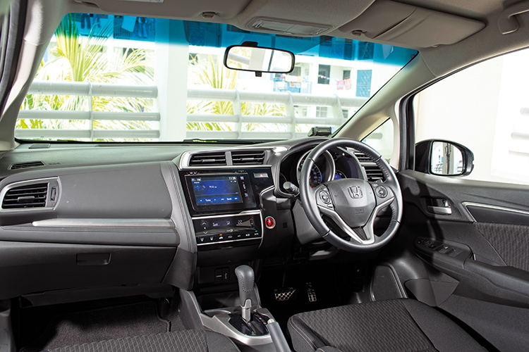 Honda Jazz – Cockpit