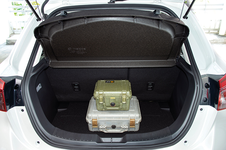Mazda 2 – Boot