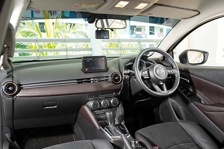 Mazda 2 – Cockpit
