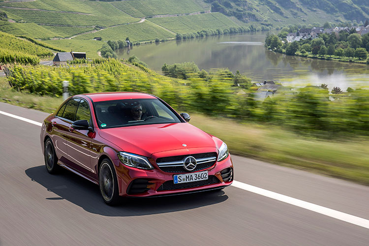 Mercedes-AMG C43 is powered by a turbocharged 3-litre V6
