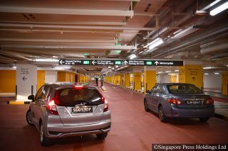 new carpark in changi airport t1 opens on november 20