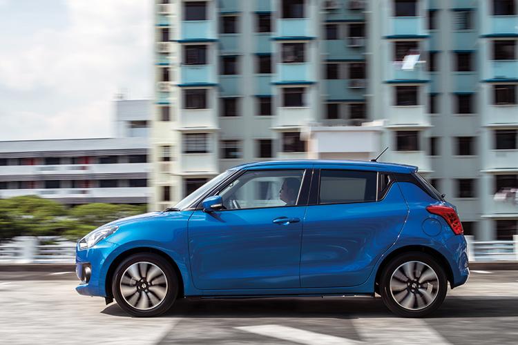 Suzuki Swift – Ride & Handling