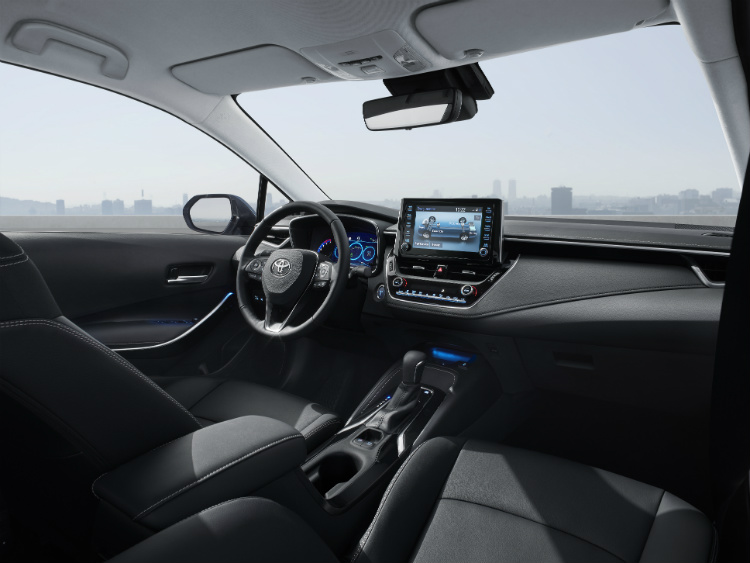 new toyota corolla interior