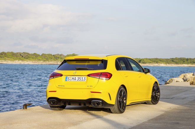 Mercedes Benz A35 AMG rear