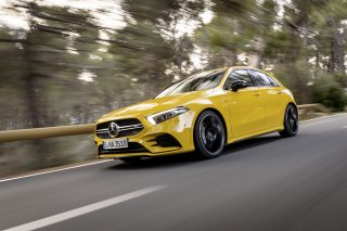 New Mercedes Benz A35 AMG