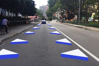3d road markings
