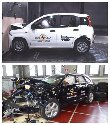 Fiat Panda Qudi Q3 Euro NCAP