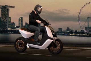 EST-X electric motorcycle concept