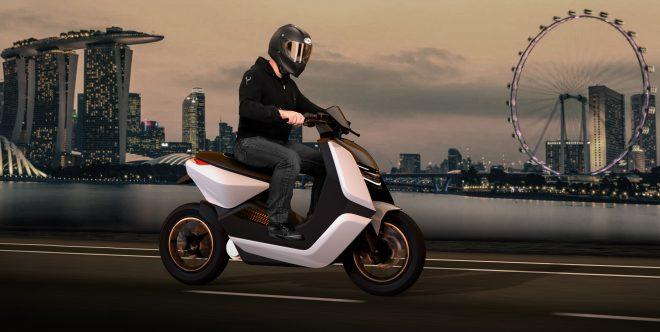 EST-X electric motorcycle concept