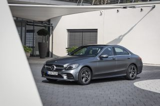 Facelifted Mercedes Benz C Class