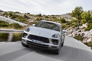 Porsche Macan S front