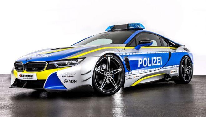 AC Schnitzer BMW i8 side