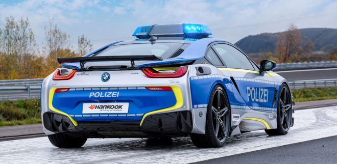 The Ac Schnitzer Bmw I8 Means The Boys In Blue Can Go Green