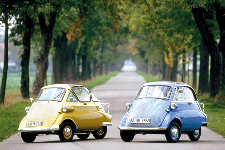 microlino is inspired by the bmw isetta