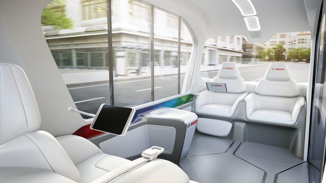 Bosch driverless shuttles