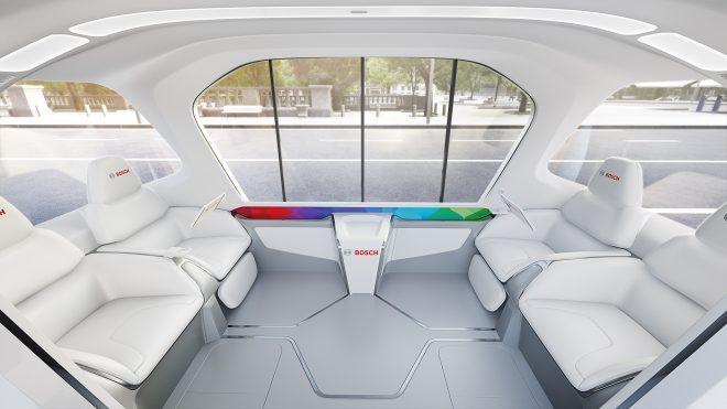 Bosch connected shuttle