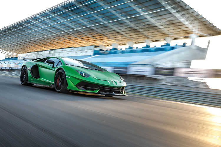Lamborghini Aventador Svj Is A Big Bad Ballistic Bull From Italy