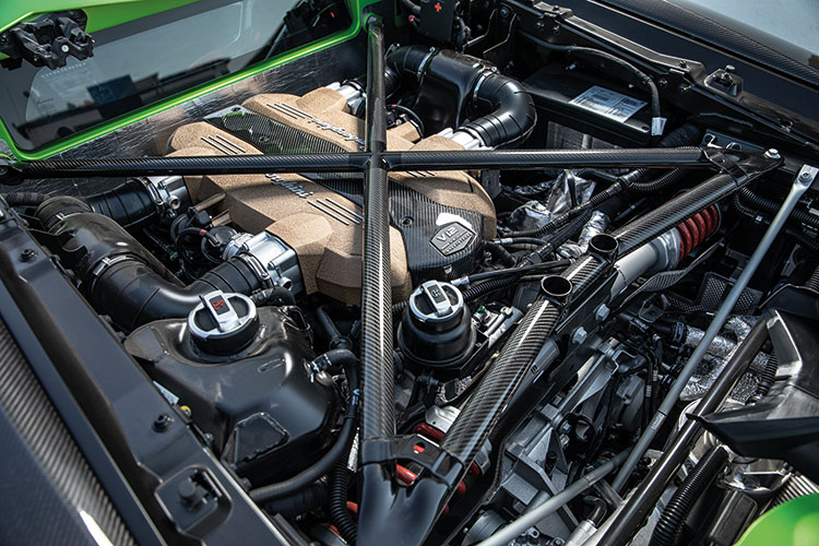 lamborghini aventador svj engine