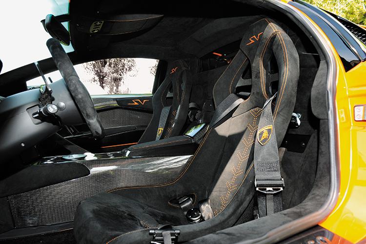lamborghini murcielago sv cockpit