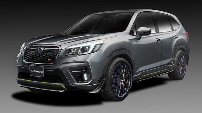 Subaru Forester STI e-Boxer concept