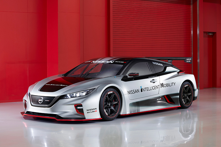 nissan leaf nismo rc front angle