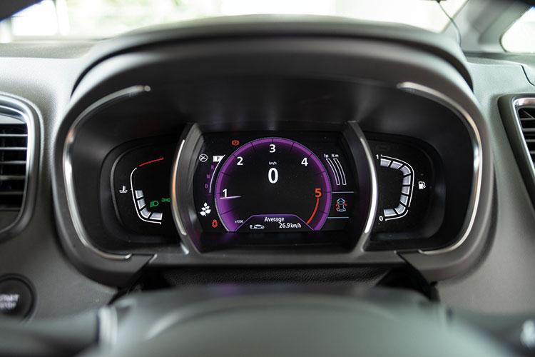 Renault Scenic – Meters