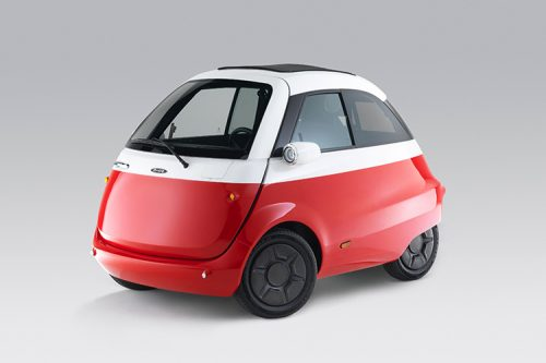 This petrolhead wants to drive a Microlino electric car