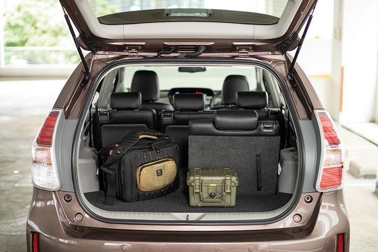 Toyota Prius+ – Boot