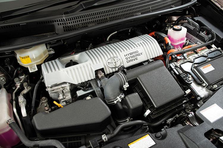 Toyota Prius+ – Engine