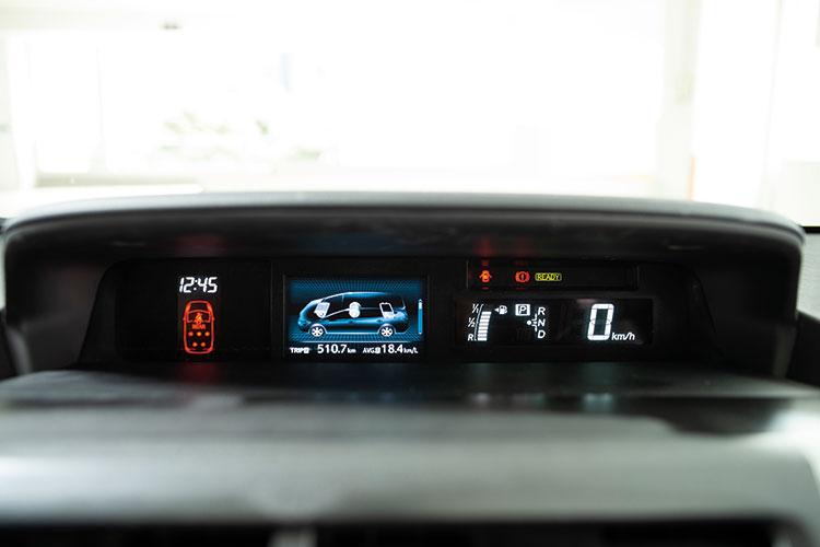 Toyota Prius+ – Meters
